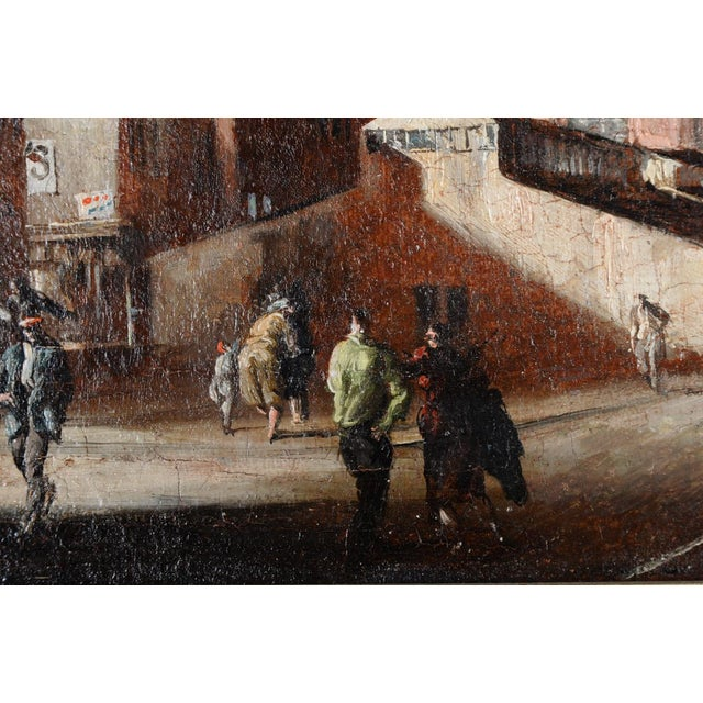 French Impressionist Street Scene Oil Painting - Image 5 of 10