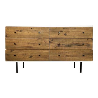 West Elm Reclaimed Wood & Lacquer 6 Drawer Dresser