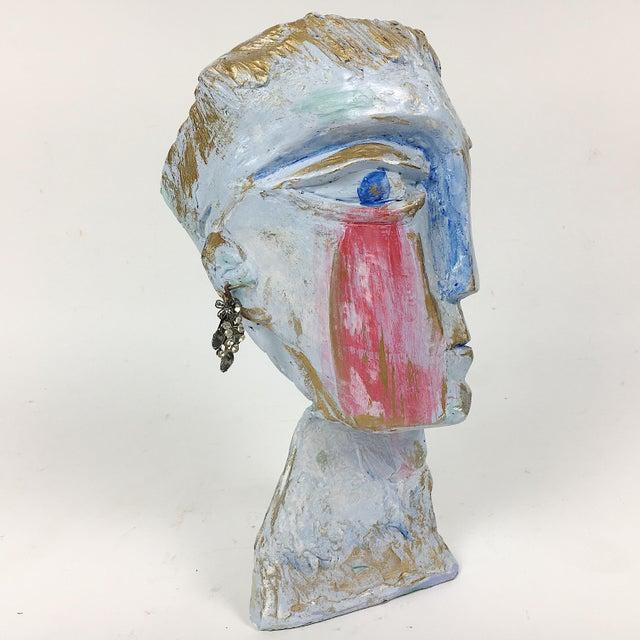 Ben Kupferman Resin 2 Faced Bust - Image 4 of 6