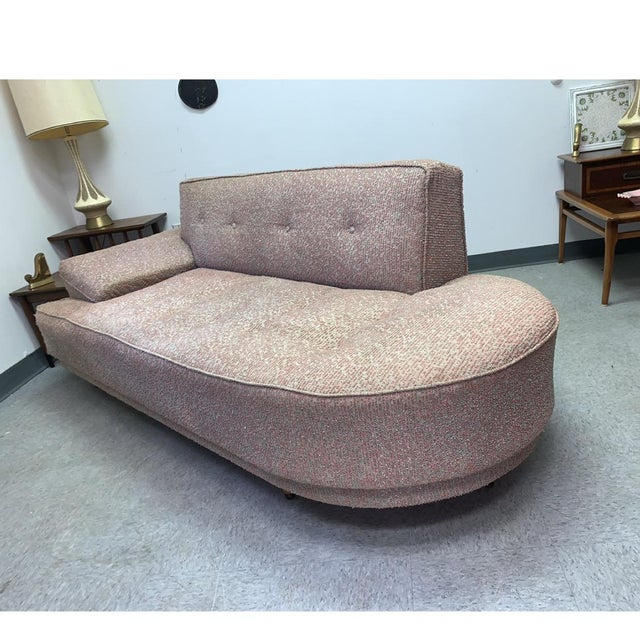 Vintage 1950's Mid-Century Modern Fainting Couch For Sale - Image 12 of 13