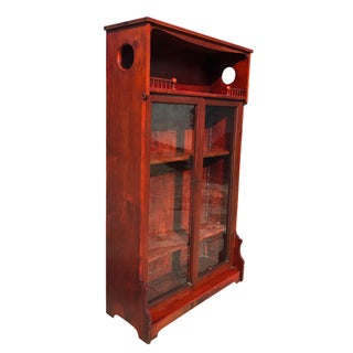19th Century Antique Red Maple Eastlake Victorian Farmhouse Etagere Preview