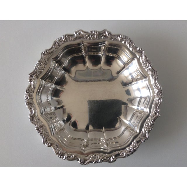 Silver plate scalloped nut dish chairish for Decor international middletown ohio