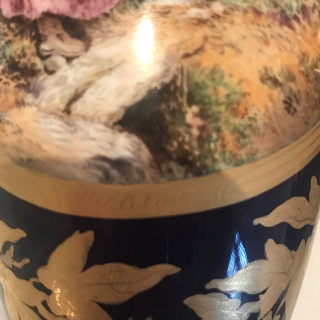 19th Century Royal Worcester Vases - a Pair For Sale - Image 11 of 13