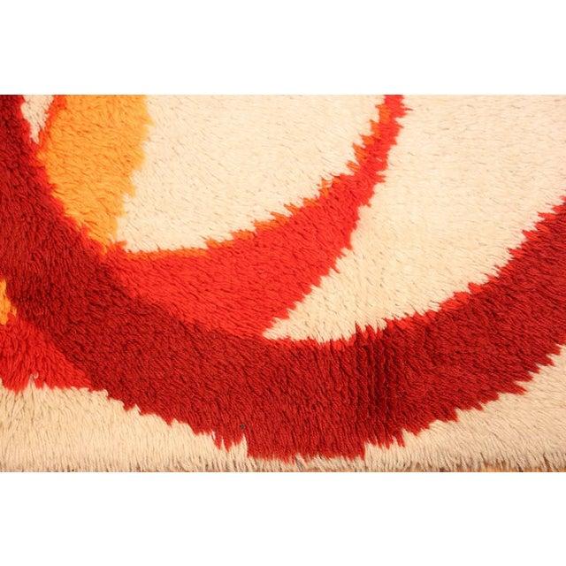 Vintage Swedish Deco Rug - 2′7″ × 5′1″ For Sale - Image 4 of 10