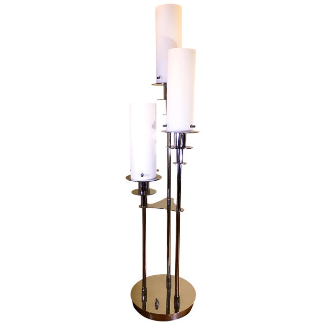 Lite Source Credence 3-Light Chrome Table Lamp - Image 1 of 6