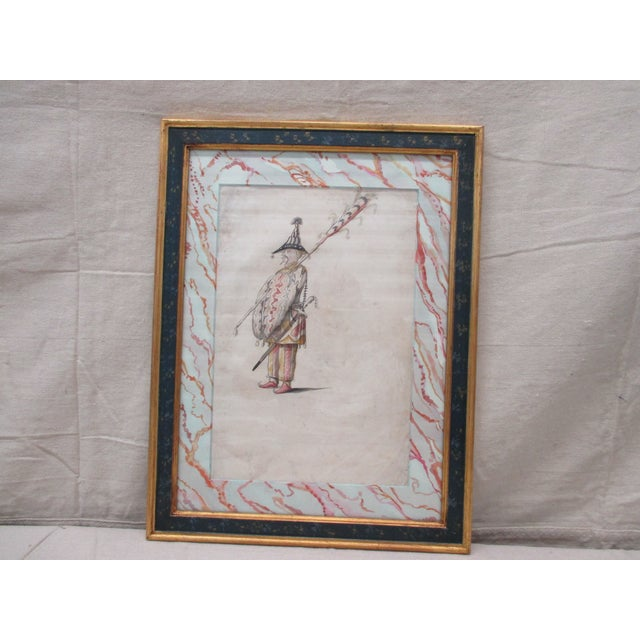 Wood Study of an Officer From l'Antiquaire & the Connoisseur in New York For Sale - Image 7 of 7