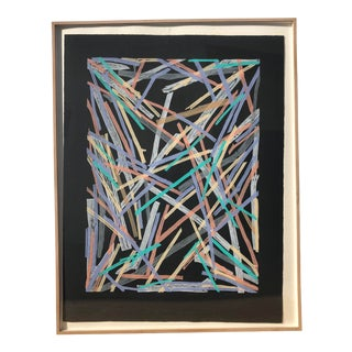 Abstract Arnoldi Limited Edition Serigraph For Sale