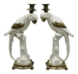 Image of Porcelain Candle Holders
