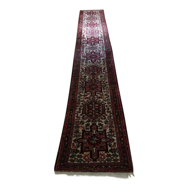 Authentic Handwoven Persian Runner Rug - Image 1 of 3