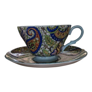 Shelley of England Paisley Tea Cup
