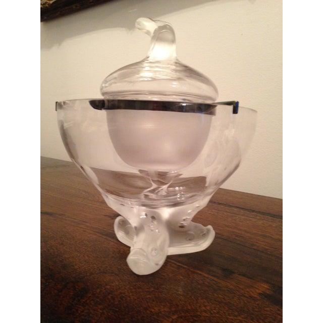 Marie-Claude Lalique Caviar Bowl Set For Sale In Nashville - Image 6 of 7