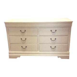 Late 20th Century Vintage Broyhill Six Drawer Dresser For Sale