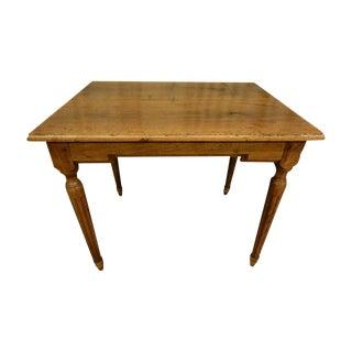 Louis XVI Walnut Side Table