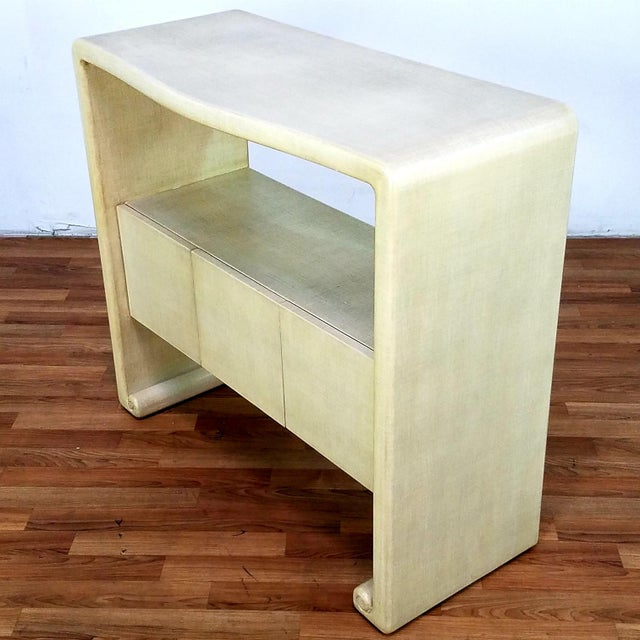 Harrison Van Horn Mid-Century Harrison Van Horn Style Console Sofa Table For Sale - Image 4 of 13