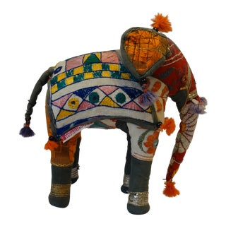 India Hand Embroidered Shisha Elephant