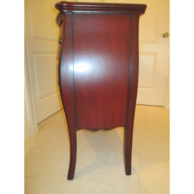 Deep Red Bombe Chest - Image 7 of 9