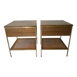 Mid-Century Modern Paul McCobb for Calvin Furniture Nightstands - a Pair For Sale
