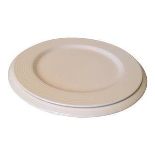 Villeroy & Boch Sedona White Premium Porcelain Plates - a Pair