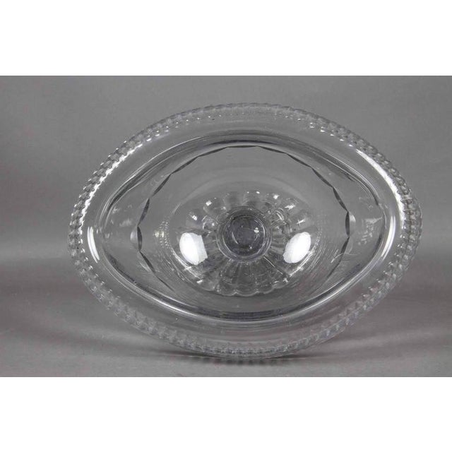George III Irish Cut Glass Footed Compote For Sale In Boston - Image 6 of 11