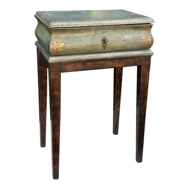 Minton Spidell Box Form Side or End Table For Sale