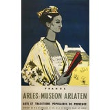 Image of 1965 Original French Exhibition Poster, Arles: Museon Arlaton For Sale