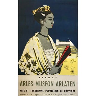 1965 Original French Exhibition Poster, Arles: Museon Arlaton For Sale