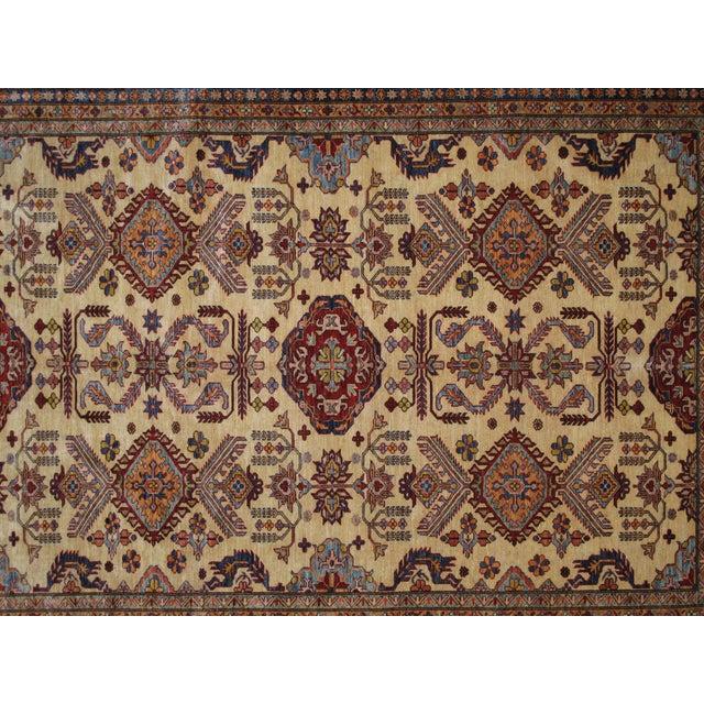 """Hand-Woven Wool Kazak Rug - 8' X 10'3"""" - Image 3 of 4"""