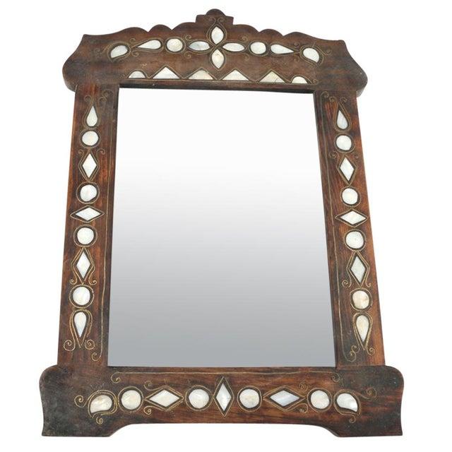 Petite Syrian Inlaid Mirror - Image 1 of 3