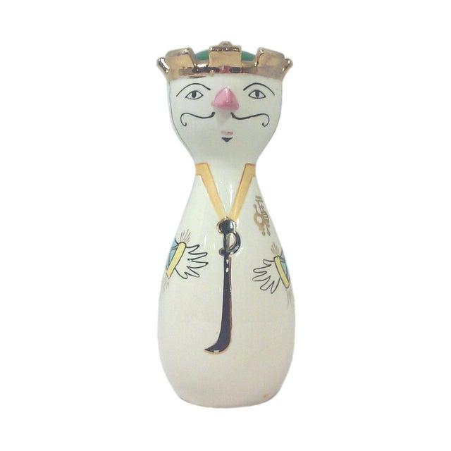 Mid-Century Ceramic Pepper Shaker - Image 1 of 3
