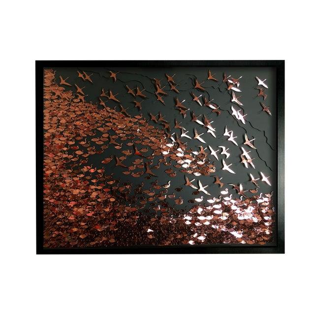 Flamboyance a three-dimensional framed artwork by Daniel Byrne - Image 1 of 5
