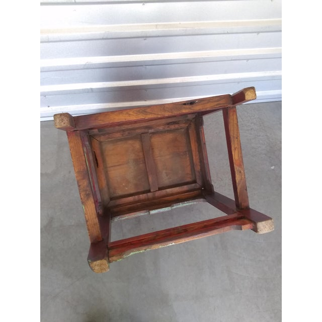 Brown Late 19th Century Antique Chinese Officials Chair For Sale - Image 8 of 13
