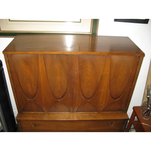 Broyhill Brasilia Highboy Dresser - Image 9 of 11