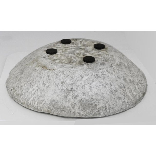 19th Century Hand-Carved Stone Bowl For Sale - Image 5 of 6