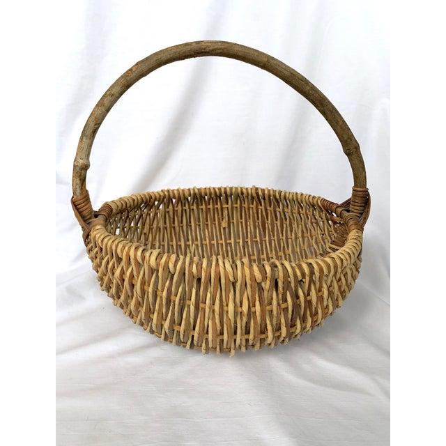 Vintage Buttocks Gathering Basket For Sale - Image 9 of 13