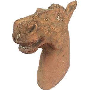Antique Terracotta Horsehead