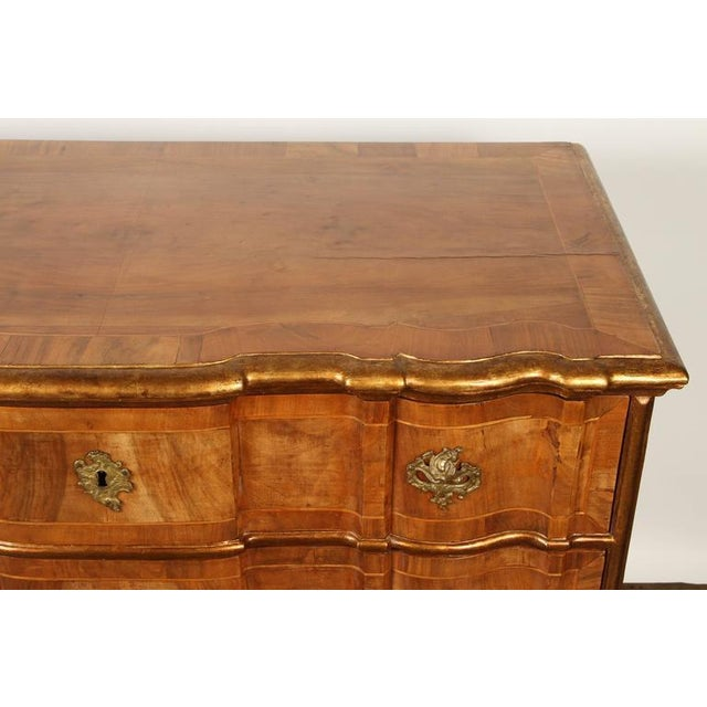 Danish Rococo chest of drawers with key For Sale In Los Angeles - Image 6 of 10