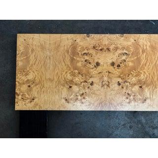Milo Baughman Burl Wood King Headboard Preview