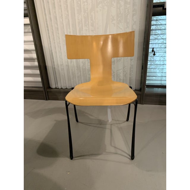 Tan Vintage John Hutton for Donghia Anziano Dining Chair For Sale - Image 8 of 11