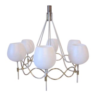 1950s Lightolier Chandelier For Sale