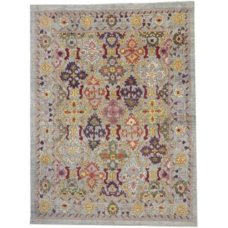 Contemporary Esmaili Rugs Turkish Oushak Rug - 11′8″ × 15′6″ For Sale