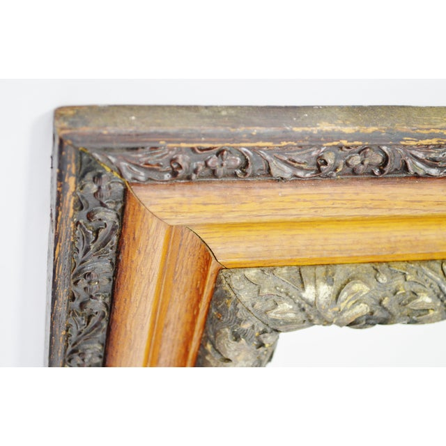 Decorative Wood Gesso Mirror - Image 8 of 11