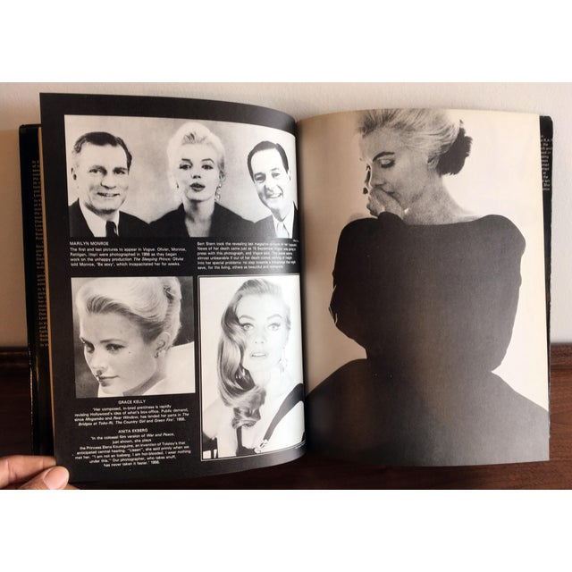 Paper In Vogue: Sixty Years of International Celebrities and Fashion From British Vogue Coffee Table Book For Sale - Image 7 of 10