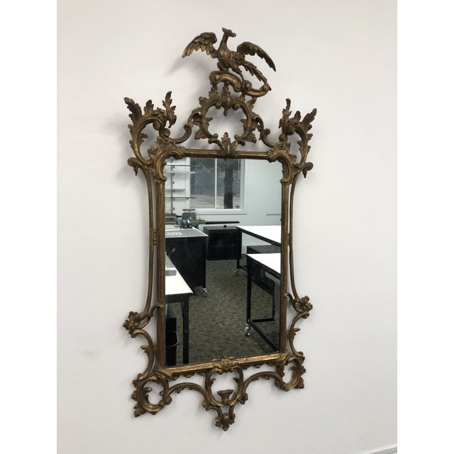 18th Century English Chippendale Chinoiserie Style Wall Mirror For Sale - Image 13 of 13