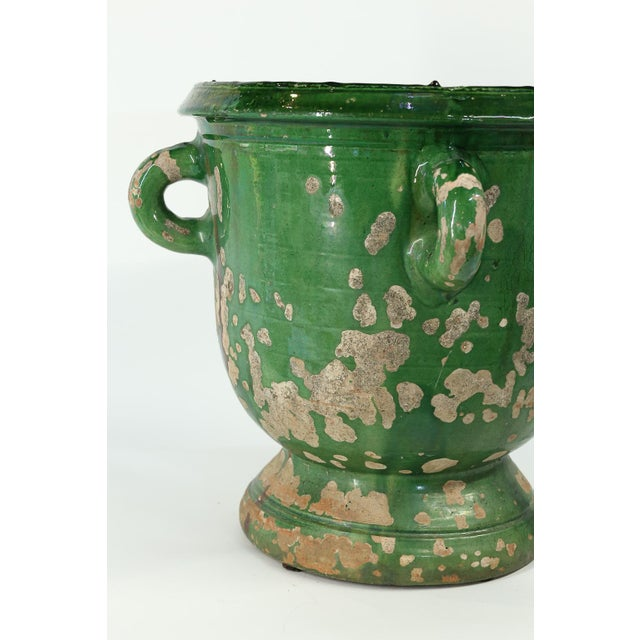 Glazed Terracotta Planter from Anduze, France For Sale In Houston - Image 6 of 8