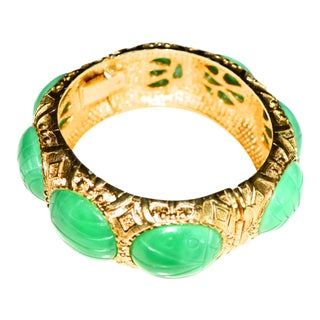 60s Kramer Scarab Cuff For Sale