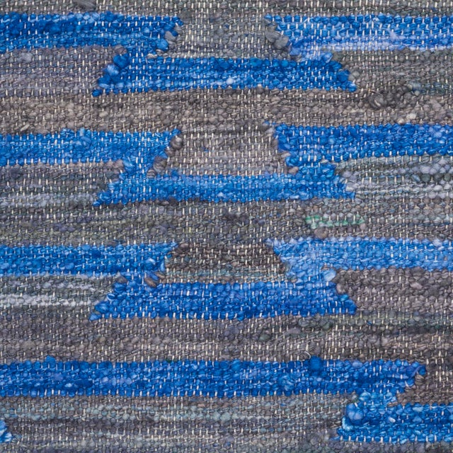 Contemporary Schumacher Patterson Flynn Martin Ruben Hand Woven Geometric Rug For Sale - Image 3 of 5