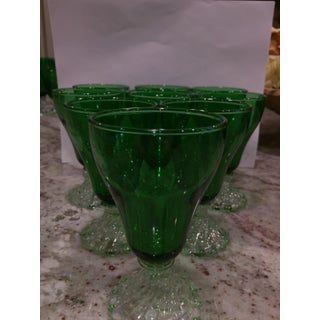Anchor Hocking Green Juice Glassware - Set of 8 Preview