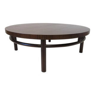 Mid-Century Modern Gibbings Rosewood/Walnut Coffee Table for Widdicomb For Sale