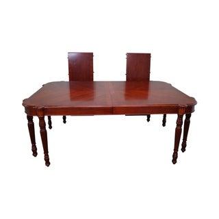 Pulaski Antiques Roadshow Sheraton Dining Table For Sale