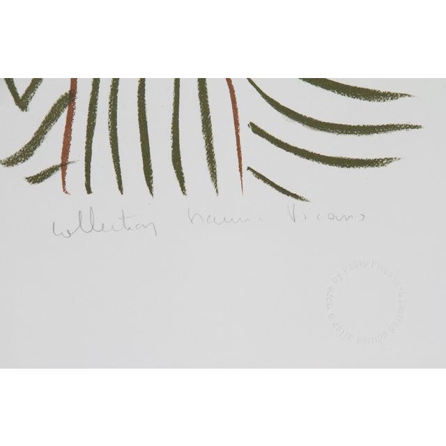 "Pablo Picasso ""Visage"" Lithograph - Image 2 of 2"